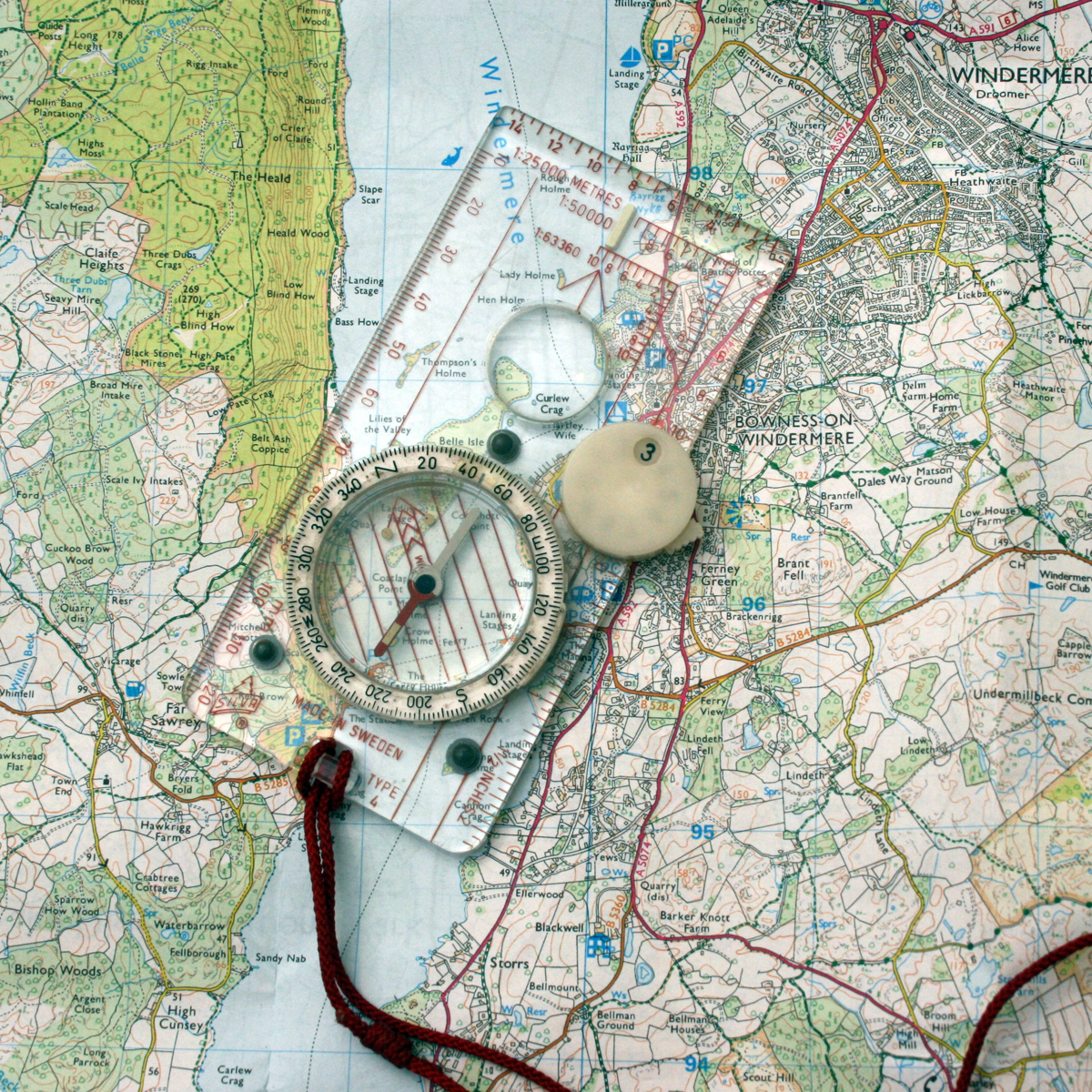 Maps Compasses & Books