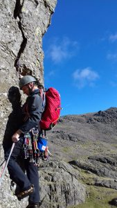 Scafell Climbing - El Nino